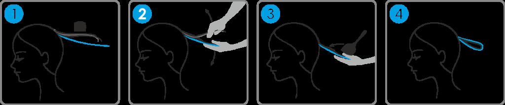 Instrukcja użycia samoprzylepnej, przezroczystej folii do koloryzacji marki Lefed